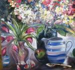 Dorothy Siclare - Blue Pitcher