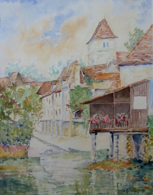 Artwork >> Jacques Fontan >> Salies béarn