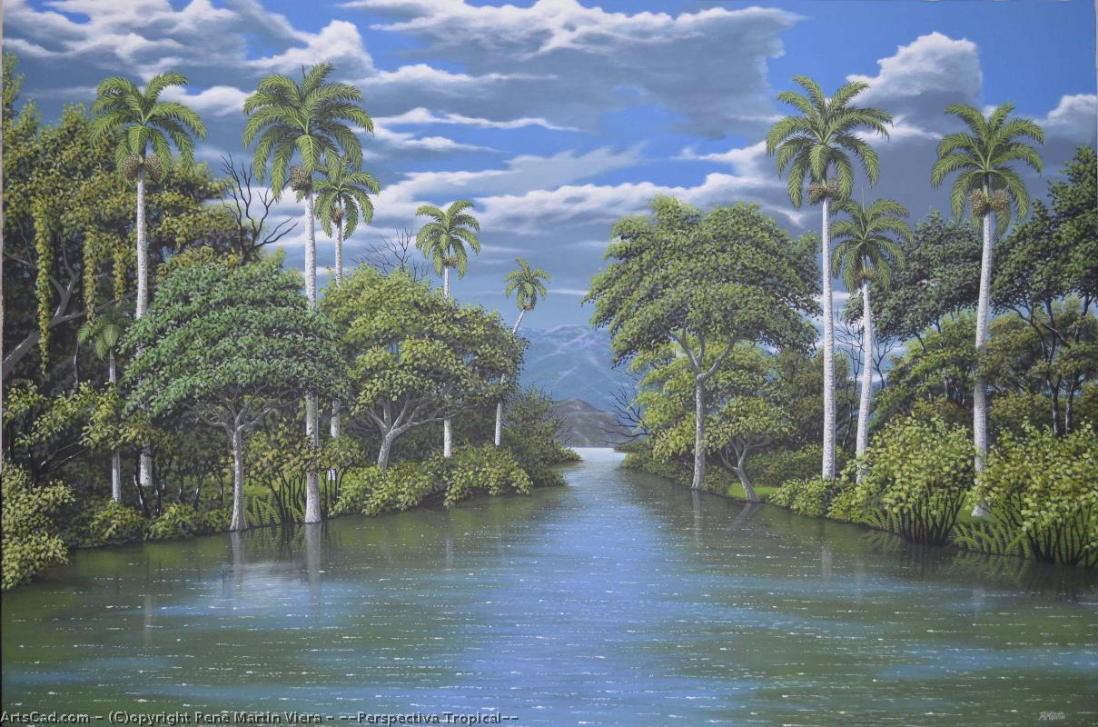 Artwork >> Rene Martin Viera >> ''Perspectiva Tropical''