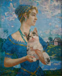 Dalakyan Belerfon - Daughter with kitten
