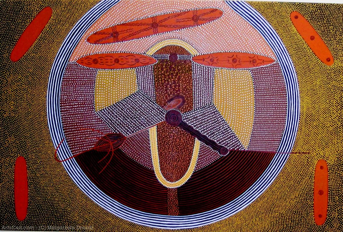 Artwork >> Malgorzata Drozdz >> The Aboriginal dream