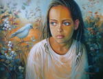 Elena Oleniuc - The bird and the child - Sold