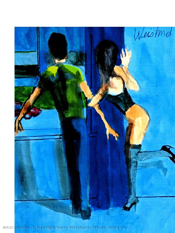 Artwork >> Harry Weisburd >> Whats Going On ?