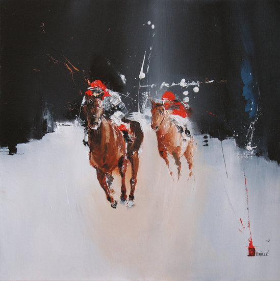 Artwork >> Karine Brailly Artiste Peintre >> Duo on track