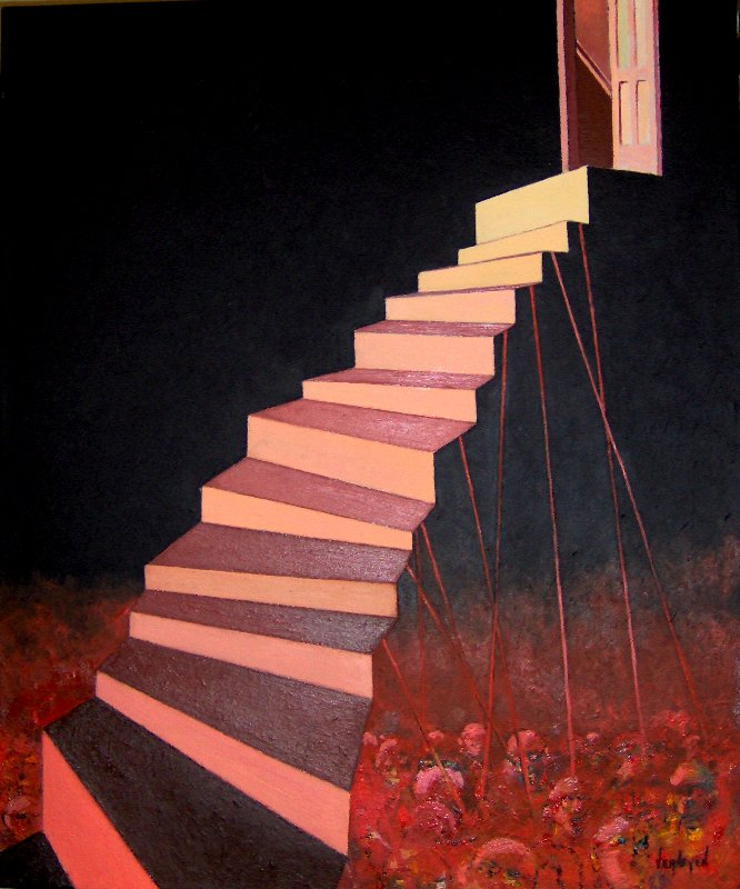 Artwork >> Robert Verheyen >> stairs