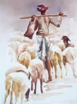 Classical Indian Art Gallery - THE SHEPHERD