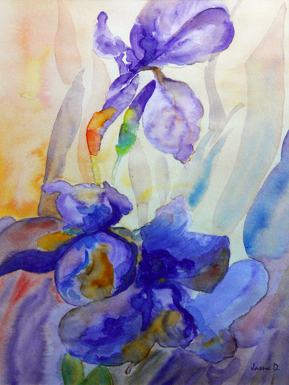Artwork >> Jasna Dragun >> Iris
