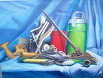 Bob Tielemans - Still Life (with shoes)