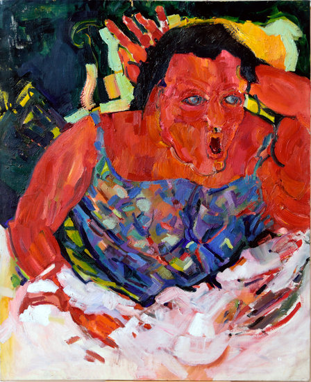 Artwork >> Anne Rottenberg >> Mom Momo Antilles