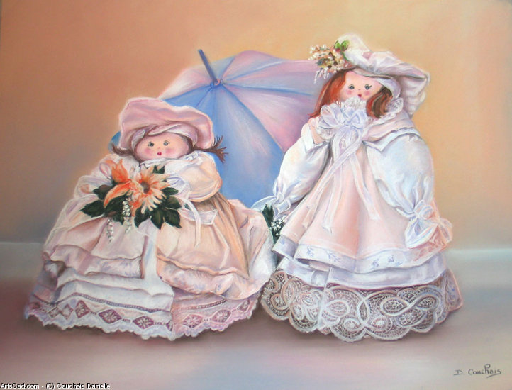Artwork >> Cauchois Danielle >> dolls from  cloth