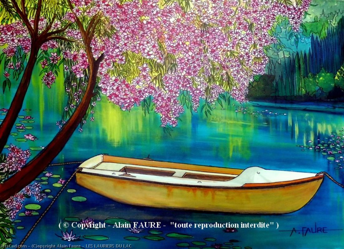 Artwork >> Alain Faure >> LAURIERS FROM LAKE