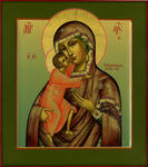 Alexander Bukharin - Feodorov icon of the Mother of God