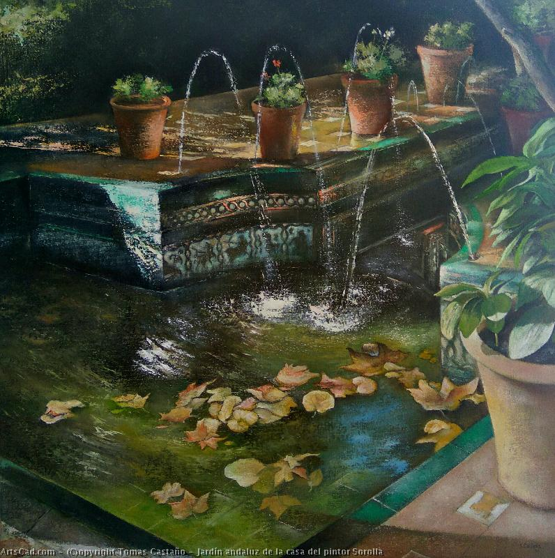 Artwork >> Tomas Castaño >> Andalusian garden of house of painter Sorolla