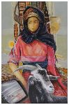 Noureddine Zekara - The Young Maid up and  there  goat