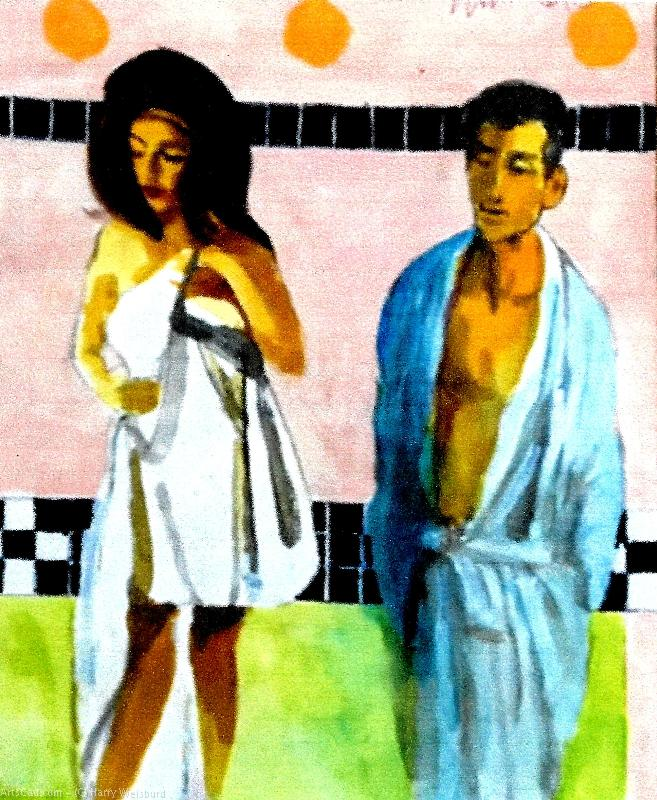 Artwork >> Harry Weisburd >> After The Bath 2