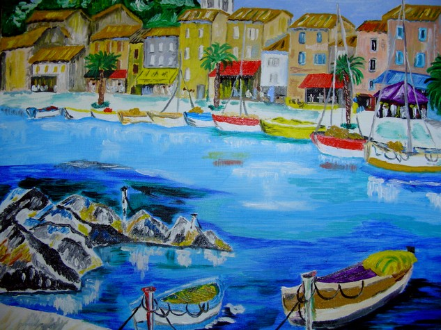 Artwork >> Dany Arnetz >> diminutive harbor