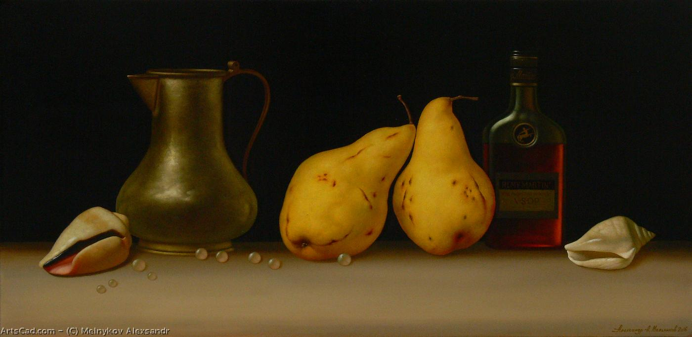 Artwork >> Melnykov Alexsandr >> Still life with pears