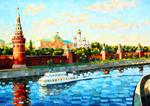 Sergey Volkov - Moscow river