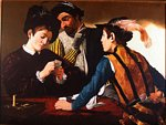 Bernard Chauvelot - Copied d-aprés Caravaggio : the cheaters
