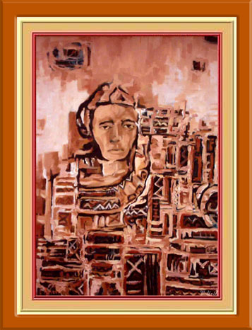 Artwork >> Abdelmadjid Medji >> woman and meaning