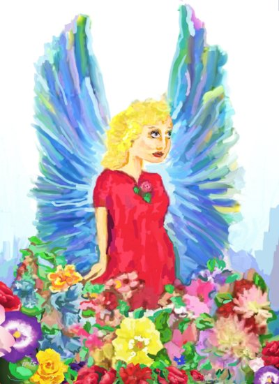 Artwork >> Iris Piraino >> angel