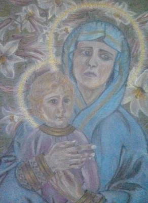 Artwork >> Inna Skidan >> Virgin and Child