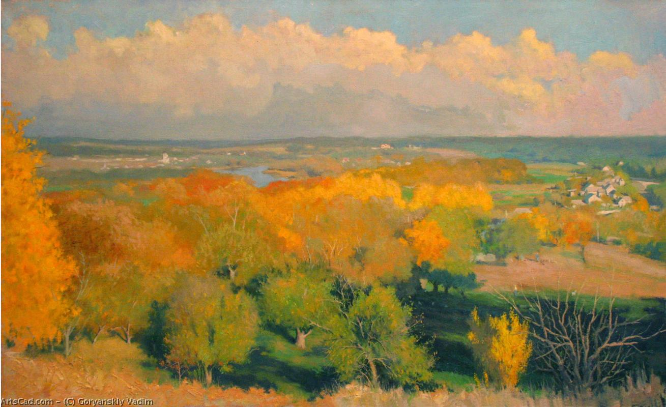 Artwork >> Goryanskiy Vadim >> Autem . four season .