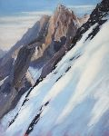 Pierre Vanmansart - - View on peak nameless , ecrins massif -