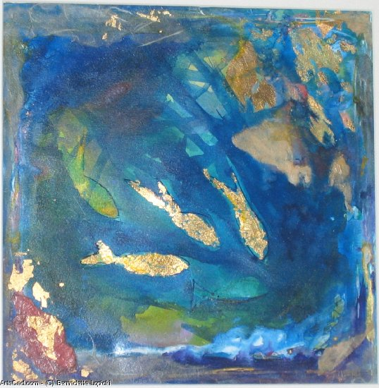 Artwork >> Bernadette Lopicki >> Pisces golden