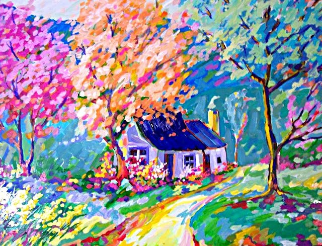 Artwork >> De Guimarães >> Cottage