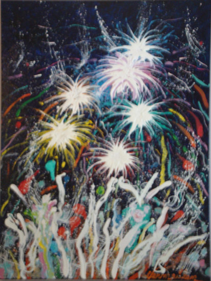 Artwork >> Michel Vermeulen >> Fireworks