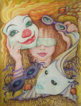 Svetlana Kislyachenko - Mask clown