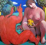 Jury Inushkin - Adam and Eve