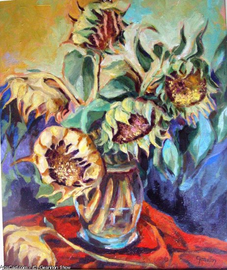 Artwork >> Geaniton Show >> Sunflowers