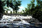 Réjean Bergeron - 57# Fall of the kingsey falls ( Quebec . Painted ca .