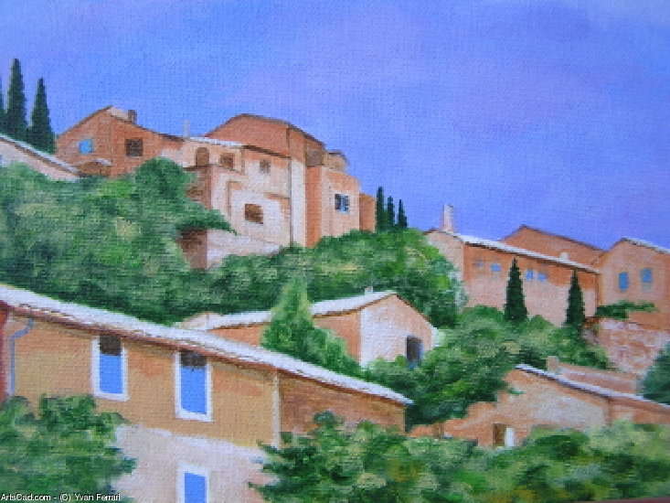 Artwork >> Yvan Ferrari >> Roussillon