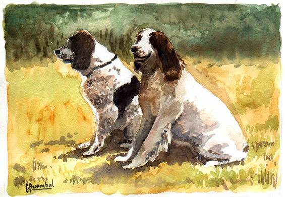 Artwork >> Claude Arcambal >> The Dogs