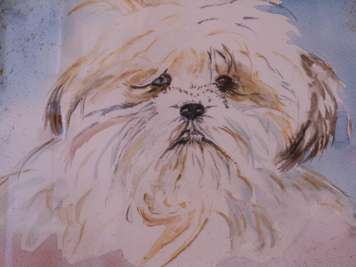 Artwork >> Mary Parlant >> DOGGIE