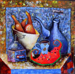 Юлия Ионова - Still Life with Watermelon