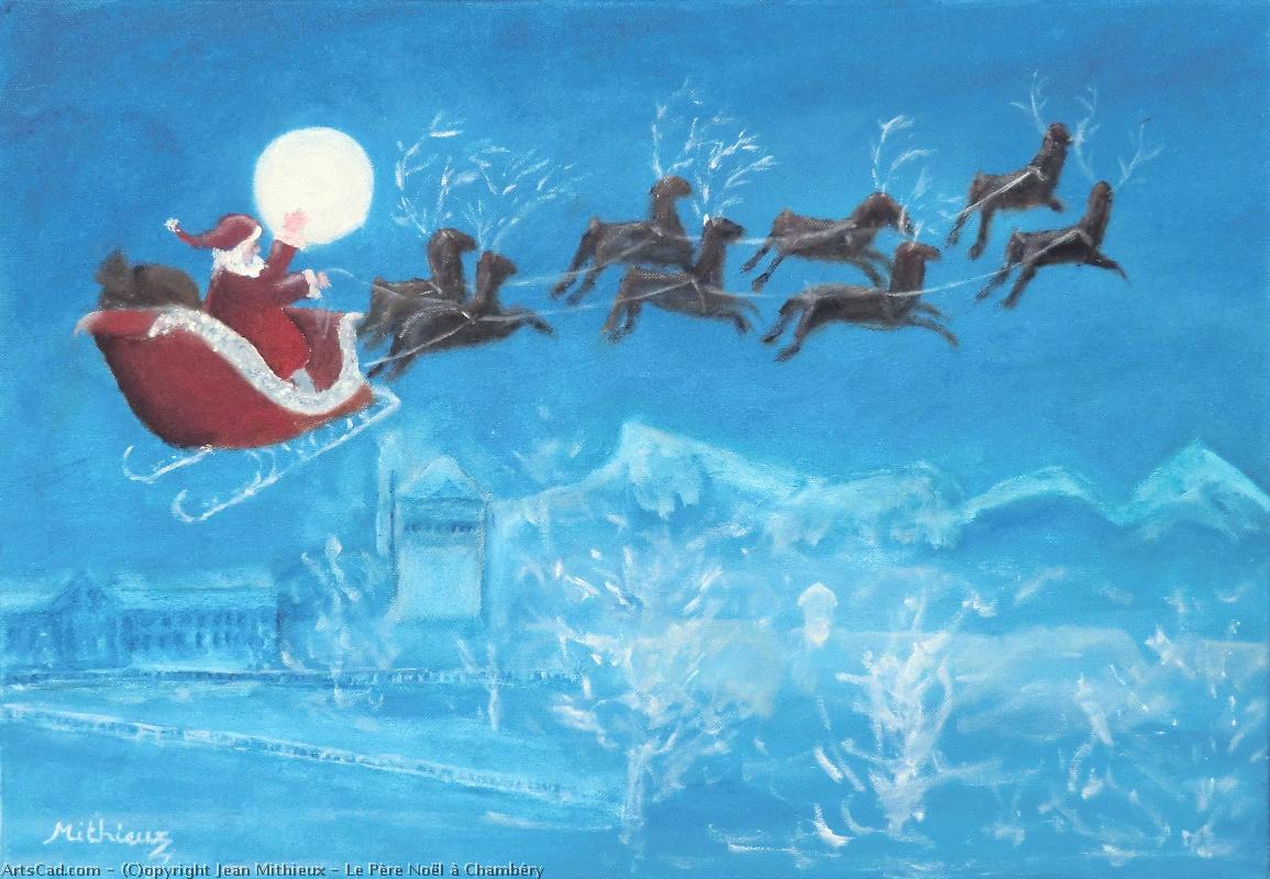 Artwork >> Jean Mithieux >> the father christmas in chambéry