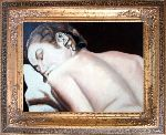 Occhino Ettore - Woman back turned who sleeps