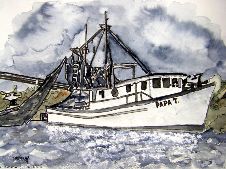 Artwork >> Derek Mccrea >> Shrimp Boat