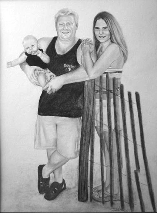 Artwork >> Jonathan Lee Wilson >> Brock's Family