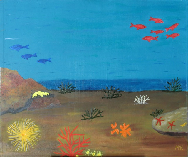 Artwork >> Marie-Anne Viseur >> under the oceans