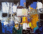 Jacques Donneaud - ABSTRACTNESS navy