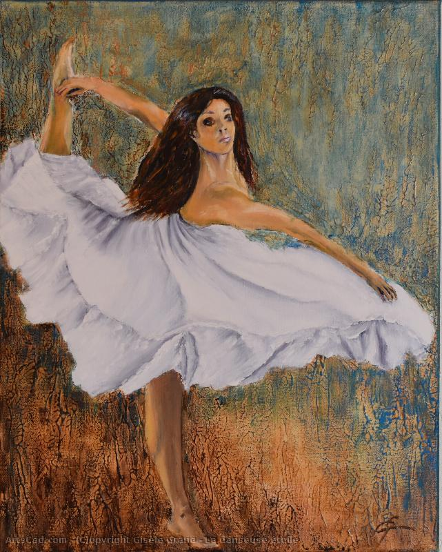 Artwork >> Gisèle Grana >> The dancer Starry