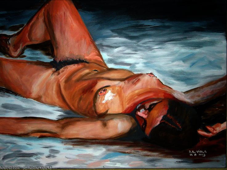 Artwork >> Alberto Viola 43 >> Siesta - The objective of the afternoon of a faun