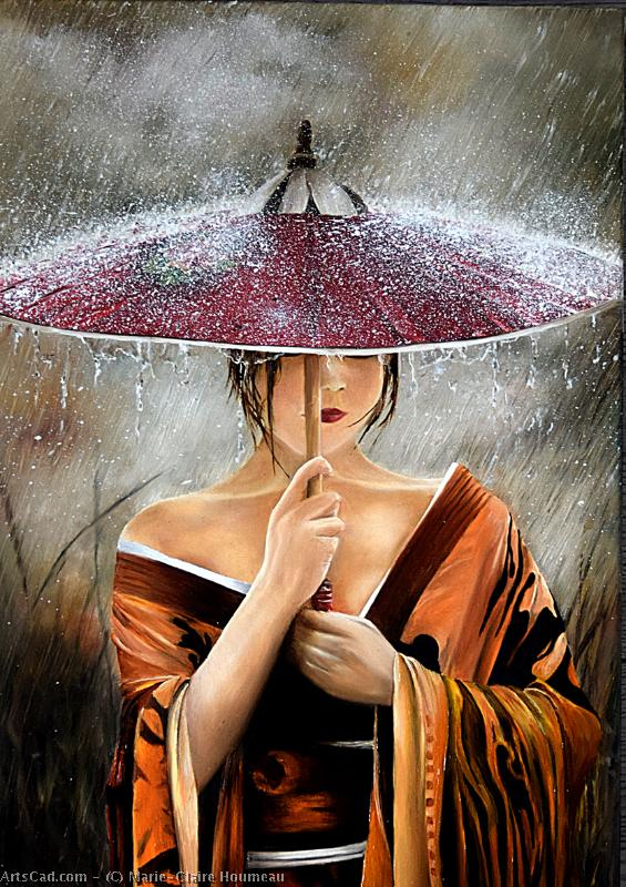 Artwork >> Marie-Claire Houmeau >> in the Rain