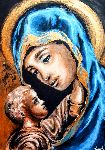 Jean-Henri Art - Golden Madonna And Child