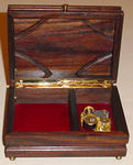 Johnny J W Morlan - Indonesian Rosewood Music Keepsake Box